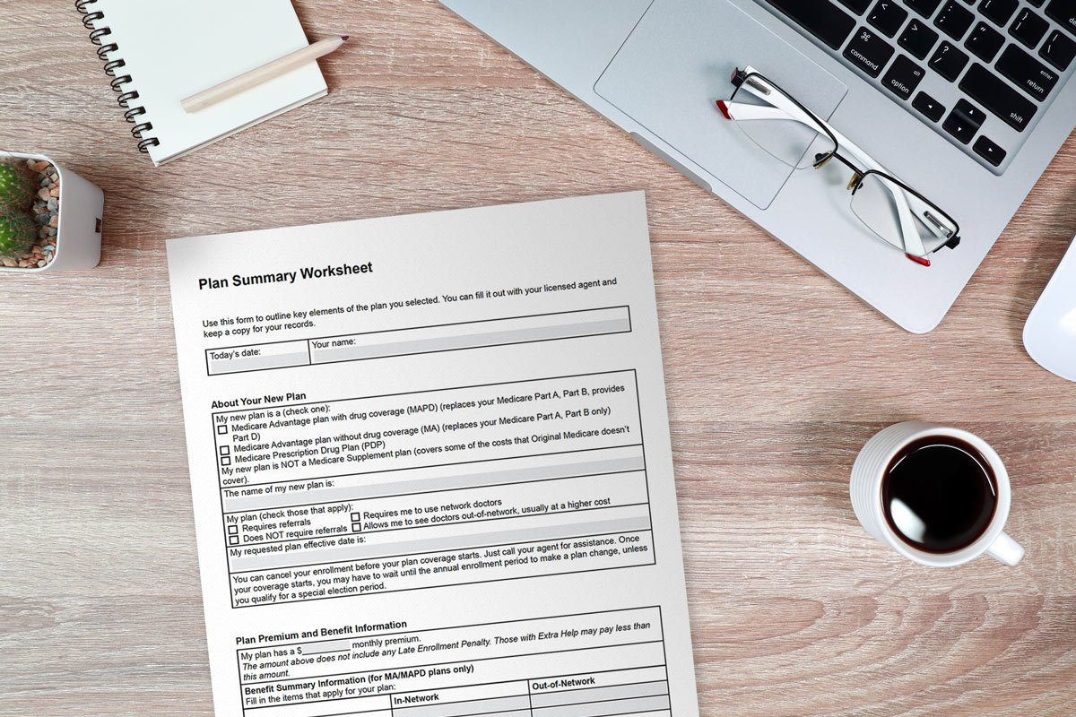 Download Plan Summary Worksheet For Clients
