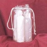Vinyl Drawstring product bag