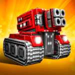 Blocky Cars Online Shooting Game mod apk (lots of money) 7.3.1