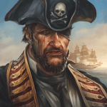 The Pirate Caribbean Hunt mod apk (Unlimited Money/Skill Points) v9.5