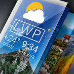 Weather Live Wallpaper Current forecast on screen Pro Mod APK 1.53