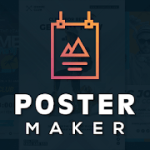 Poster Maker Flyer Design Template Graphic Creator PRO APK 31.0