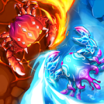 Crab War Idle Swarm Evolution mod apk (much money) v3.25.0