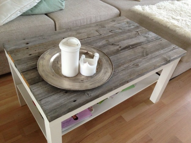 cool homemade coffee table | coffee tables
