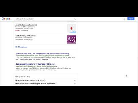 Book Store keyword research competitive analysis & website ranking