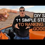DIY SEO: 11 Simple Steps to Ranking on Google