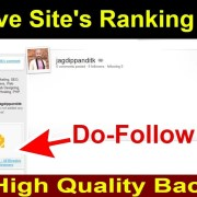 Free High Quality Do-Follow Backlink |  Improve your Site's Ranking (SEO)