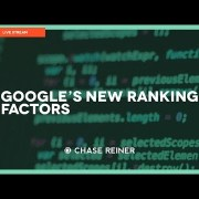 Google's Most Important Ranking Factors For 2018