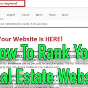 How To Rank Your Real Estate Website in Google | Real Estate SEO training