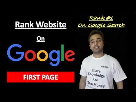 How to rank website on google first page by learning SEO in just 10 minutes Search Engine Strategies