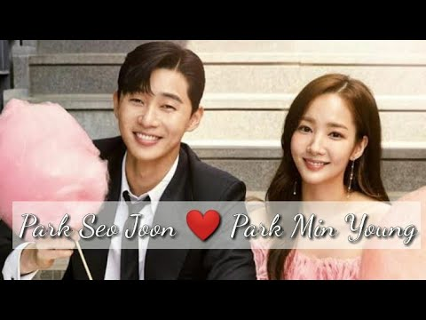 Park Seo Joon & Park Min Young l Don't know what to do