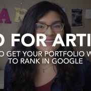 Ranking in Google: Search Engine Optimization for Art Portfolio Websites