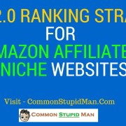 Web 2.0 Ranking Strategy For Amazon Affiliates Niche Websites