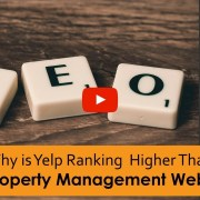 Why is Yelp Ranking Higher Than my Property Management Website?