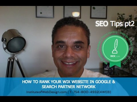 Wix Website SEO Learning 2017 - How To Rank Your Wix Website in Google pt2