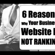 6 REASON'S WHY Your Business Website Is Not Ranking | Stacy Flick