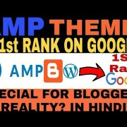 AMP Theme in Blogger & wordpress Rank 1st On Google | AMP Website Really Rank On Google? | AMP Theme