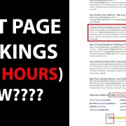 First Page Rankings In 24 Hours (How???)