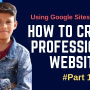 How To Create Professional Looking Website Using | #sites.google.com | Rank Fast |