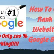 How To Get 1 Rank Of Your Website In Google Search In Only 1 Day!! 100% Working !!! [Hindi]