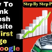How To Rank Fresh Website in Google Step By Step Process Part 1 [in Hindi]