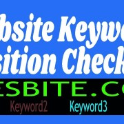 How to Check Keywords Position on Google - Keyword Position / Rank Checker of Website Page