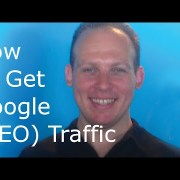 How to get Google search engine optimization (SEO) traffic: SEO training tutorial for 2015