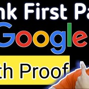 How to rank website on google first page 100 % PROOF blogger post ranking algorithm