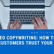 SEO Copywriting: How to Make Customers Trust Your Brand?