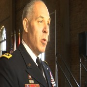 WEB EXTRA: Alabama's highest ranking military official discusses event