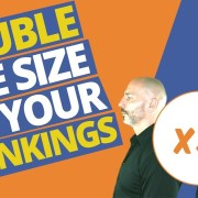 1 SEO tip that DOUBLES the size of your rankings (in 24 hrs)