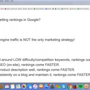 Expectations for Rankings and Traffic to your Site using SEO