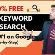 FREE Keyword Research for SEO in 2019 (3-Step 100% Working Blueprint)