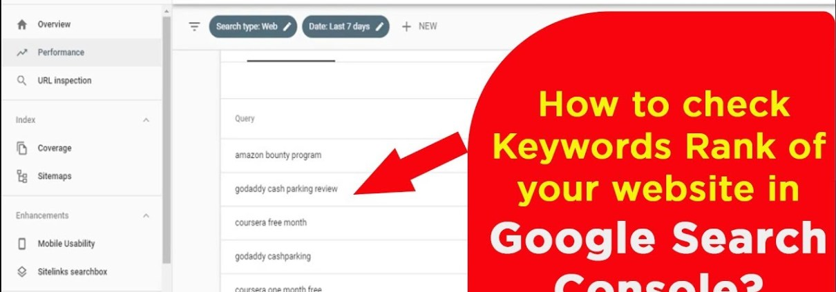 How to find keywords of your website ranking in Search Engine results