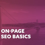 On Page SEO Basics