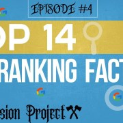 Top 14 Google SEO Ranking Factors - That will get you #1 In Google Search Results!