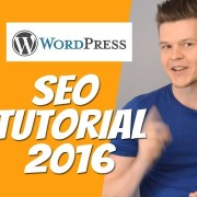 Wordpress SEO Optimierung Tutorial 2017 mit Yoast Plugin [Deutsch]