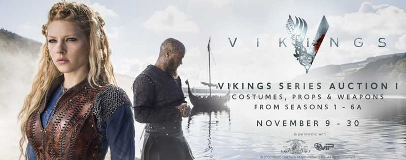 Vikings Series Costumes, Props & Weapons Auction Has Begun!