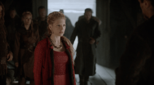 Lagertha's Red Dress from Vikings