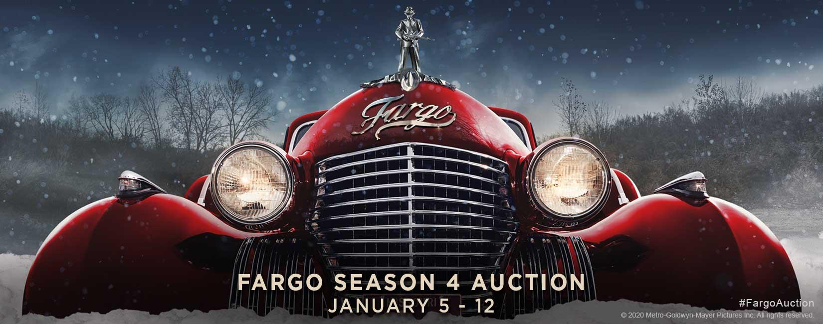 Fargo Season 4 Auction - January 5 - 12