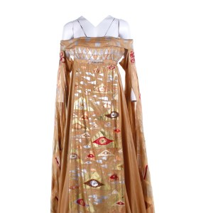 Vikings Gunnhild Ragga Ragnars Screen Worn Dress Ep 517