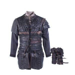 Vikings Ivar Alex Hogh Andersen Screen Worn Armor Shirt Set & Gloves Ep 501