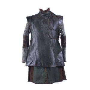 Vikings Ubbe Luke Shanahan Screen Worn Vest & Shirt Ep 408