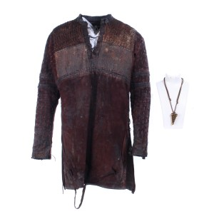 Vikings Hvitserk Marco Ilso Screen Worn Shirt & Necklace Ss 6