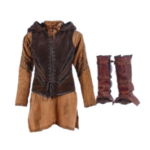 Vikings Torvi Georgia Hirst Screen Worn Vest Shirt & Gaiters Ss 4-5