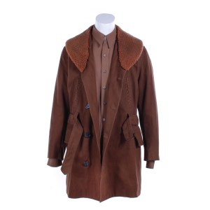 Fargo Deafy Timothy Olyphant Screen Worn Coat & Shirt Ss 4