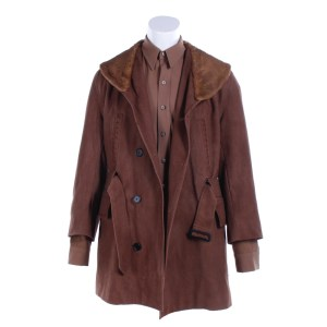 Fargo Deafy Timothy Olyphant Screen Worn Stunt Coat & Shirt Ep 408