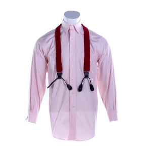 Fargo Josto Fadda Jason Schwartzman Screen Worn Shirt Suspenders & Cufflinks Ep 402