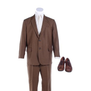 Fargo Josto Fadda Jason Schwartzman Screen Worn Stunt Suit Shirt Pin & Shoes Ep 408