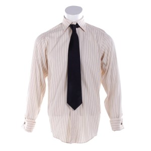 Fargo Loy Cannon Chris Rock Screen Worn Shirt Cufflinks & Tie Ep 401